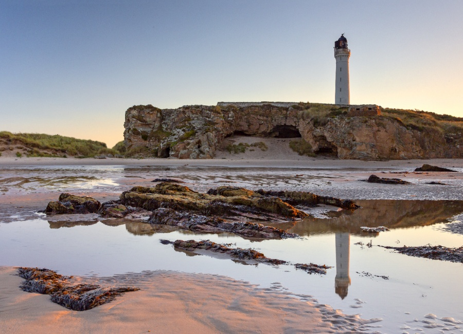 COVE BAY LIGHTHOUSE by Keith Gordon