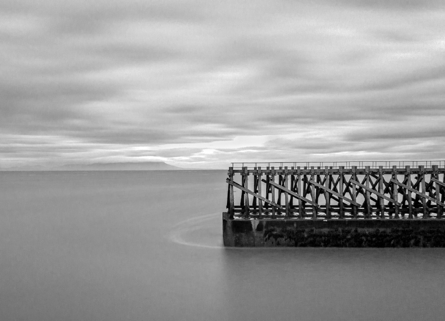 OLD PIER MARYPORT by Keith Gordon
