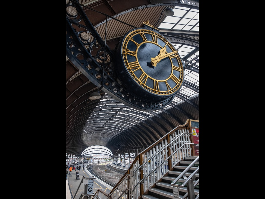 YORK RAILWAY STATION 1 by Dick Bateman