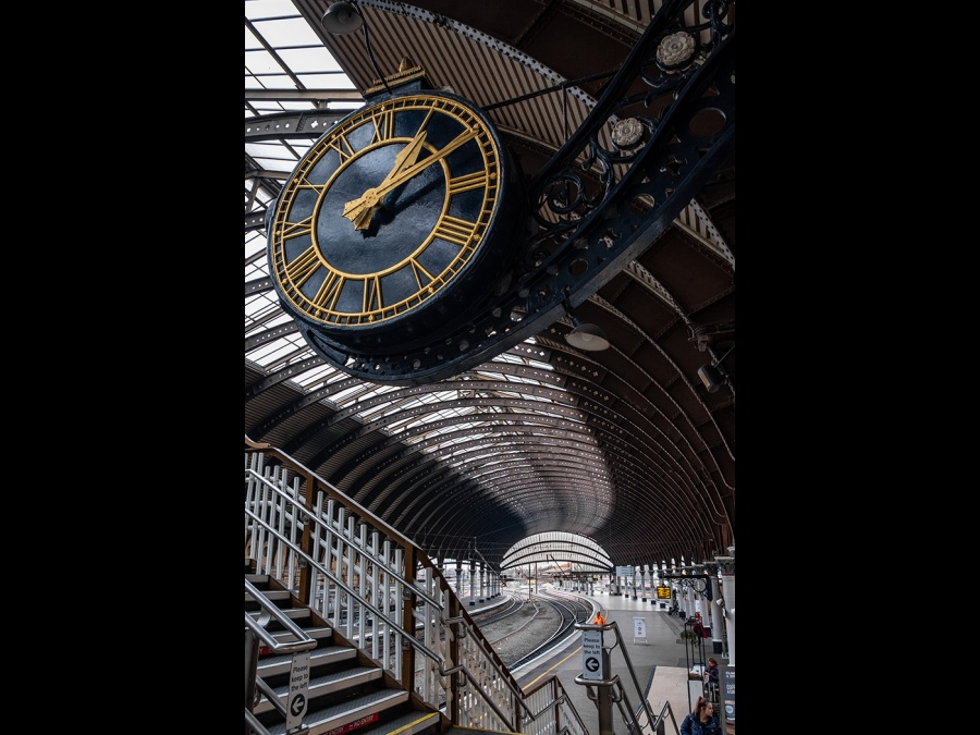 YORK RAILWAY STATION 3 by Dick Bateman