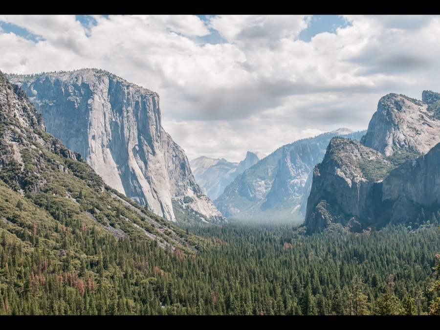 TUNNEL VIEW, YOSEMITE by Chris Evans