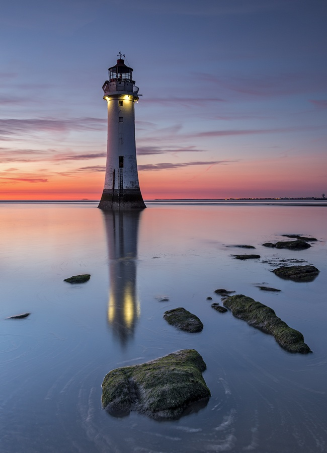 PERCH ROCK LIGHTHOUSE by Ismail El-Haddad