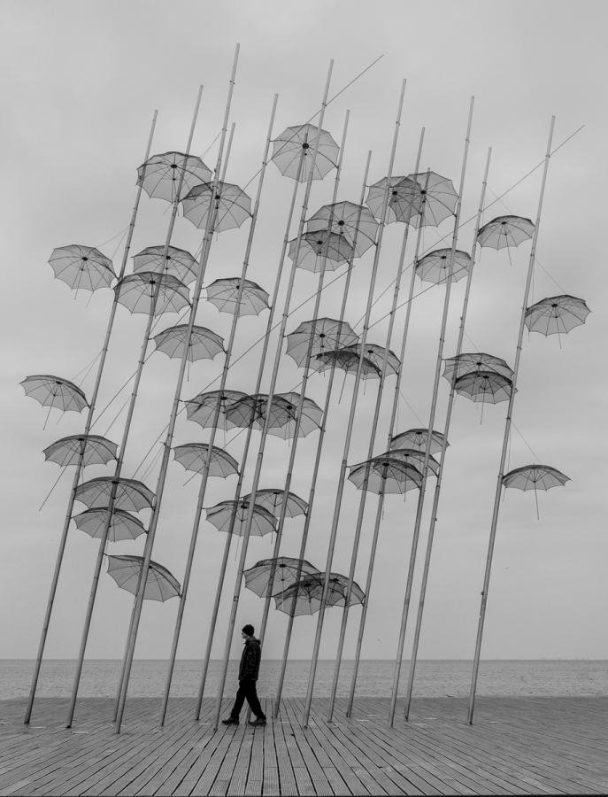 SO MANY UMBRELLAS by Caroline Claye