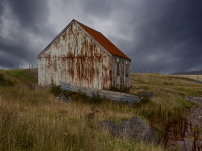 The Old Boat Shed by Nicola Cousins