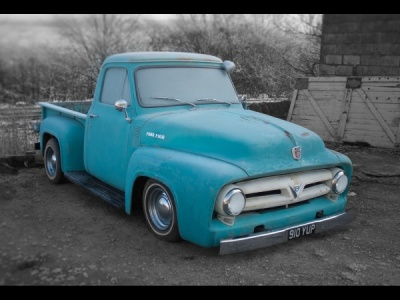 Ford Pickup by James Chapman