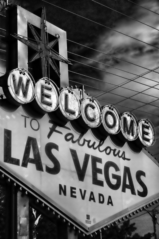 Welcome to Las Vegas by Angela Caunce