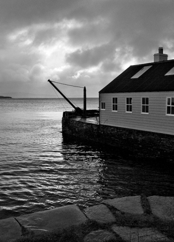 Quayside Orkney by Vic Brown