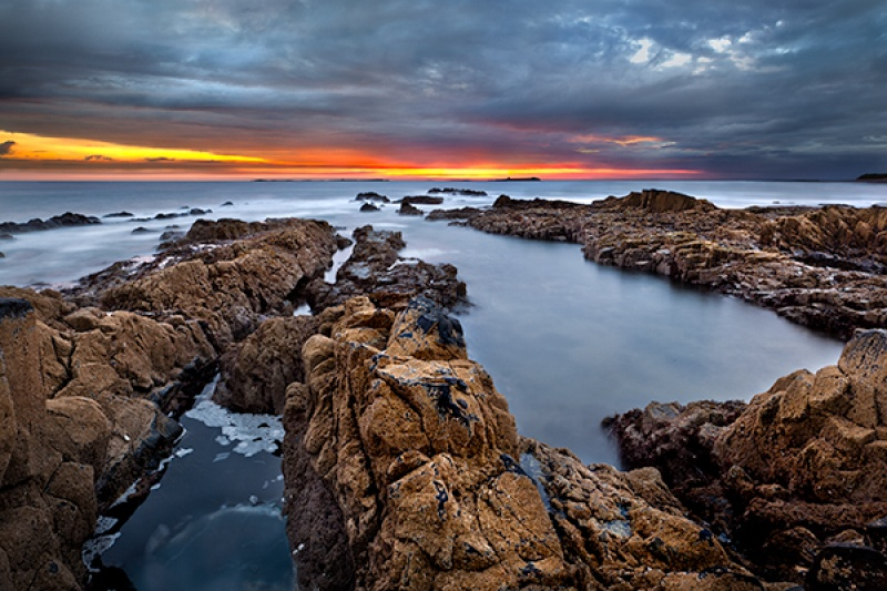 Harkness Rock Sunrise by Phil Thompson