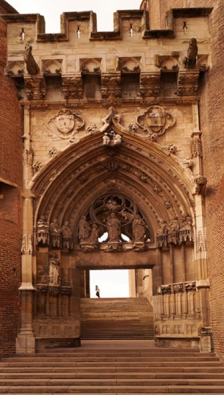 Albi Cathedral by Brian Barfoot