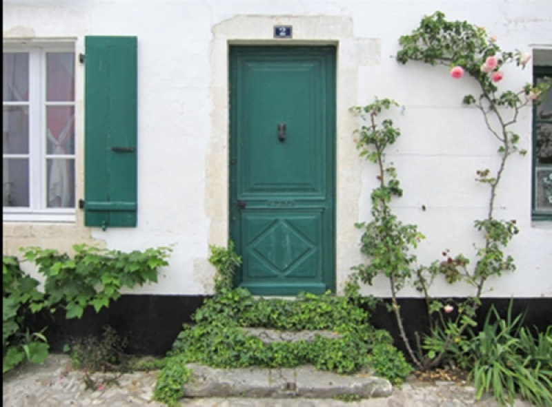 The Doors and Windows of Ille De Re by Lynne McPeake
