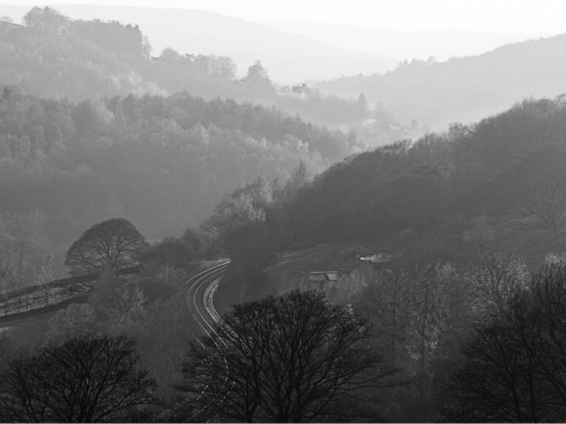 RAILWAY INTO THE HILLS