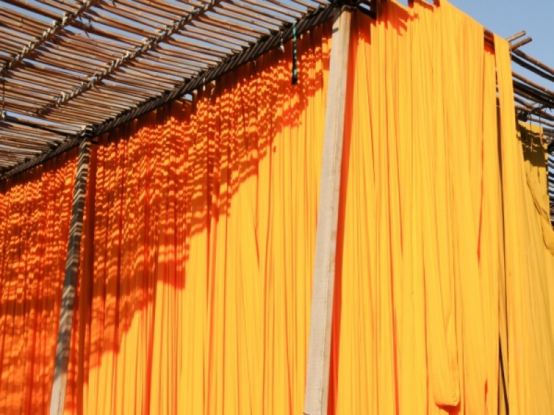 DYE DRY IN JAIPUR by Dorothy Challand