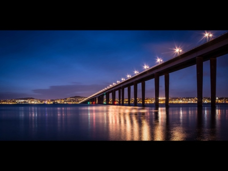 OVER THE SILVERY TAY by Dick Bateman