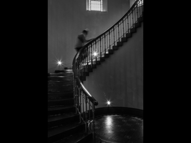 THE OTHER NIGHT UPON THE STAIR by Dick Bateman