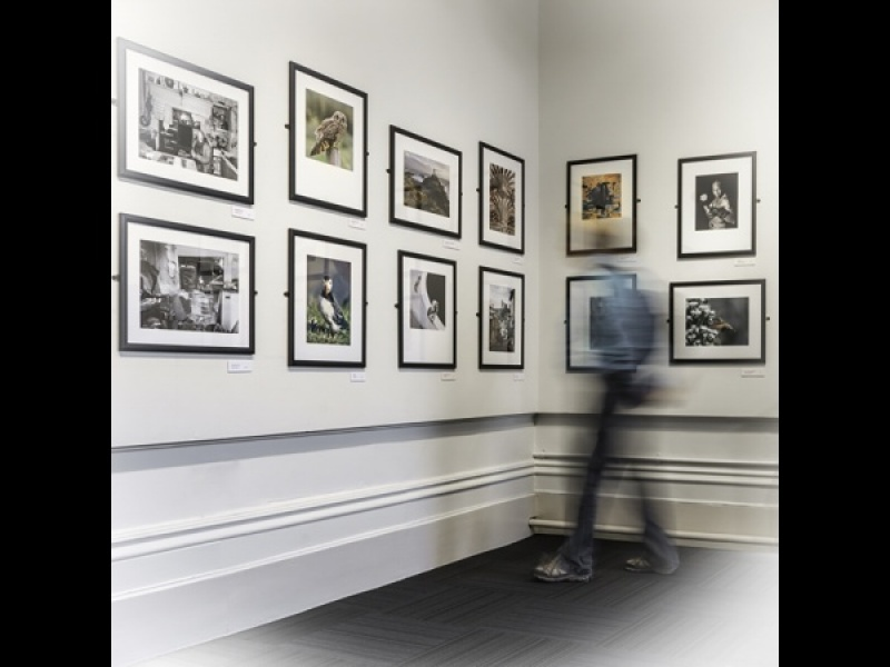 AT THE GALLERY by Dick Bateman