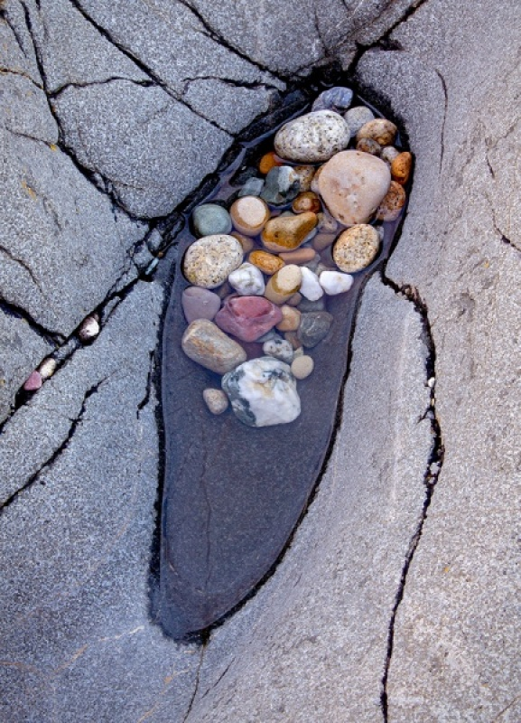 BEDROCK AND PEBBLES by Keith Gordon