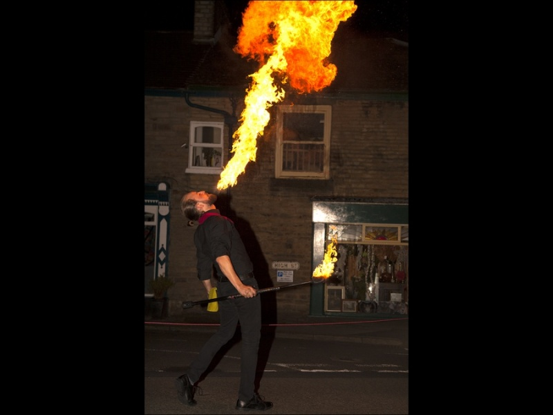 HIGH STREET FIRE BREATHER by james chapman