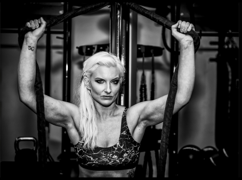 CARRIE - THE BODYBUILDER by Charlotte Nuttall