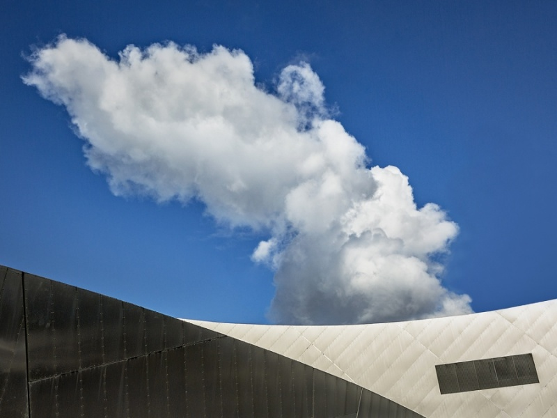 ROOF AND CLOUD by Keith Gordon