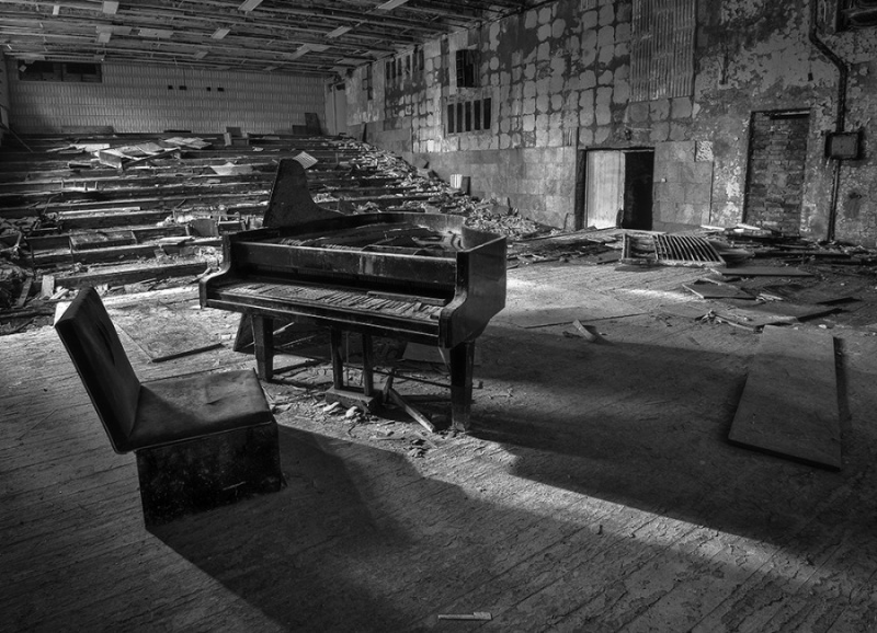 THE TOWN DESTROYED BY RADIATION, CHERNOBYL (1) by Charlotte Nuttall