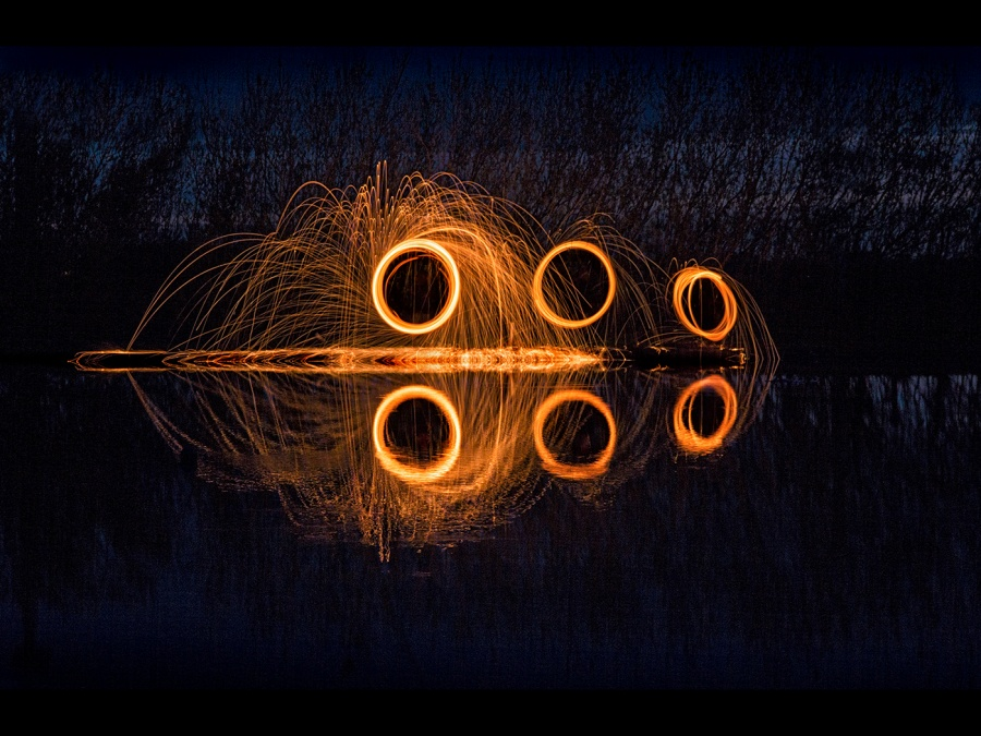FIRE AND WATER by Helena Jones