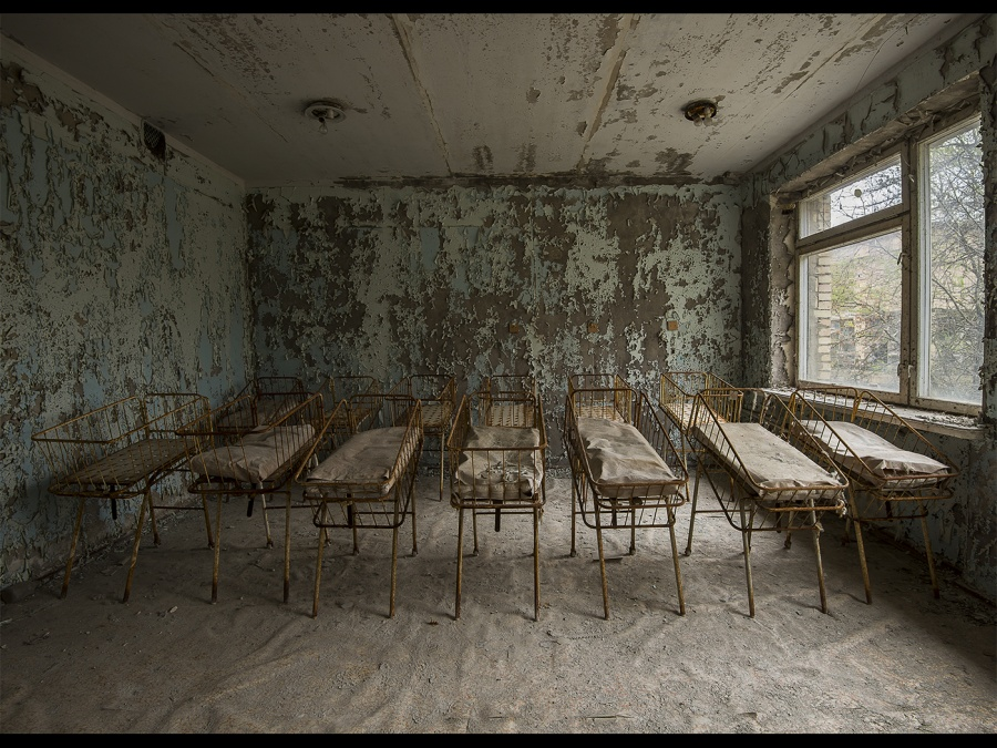 ABANDONED MATERNITY UNIT by Charlotte Nuttall