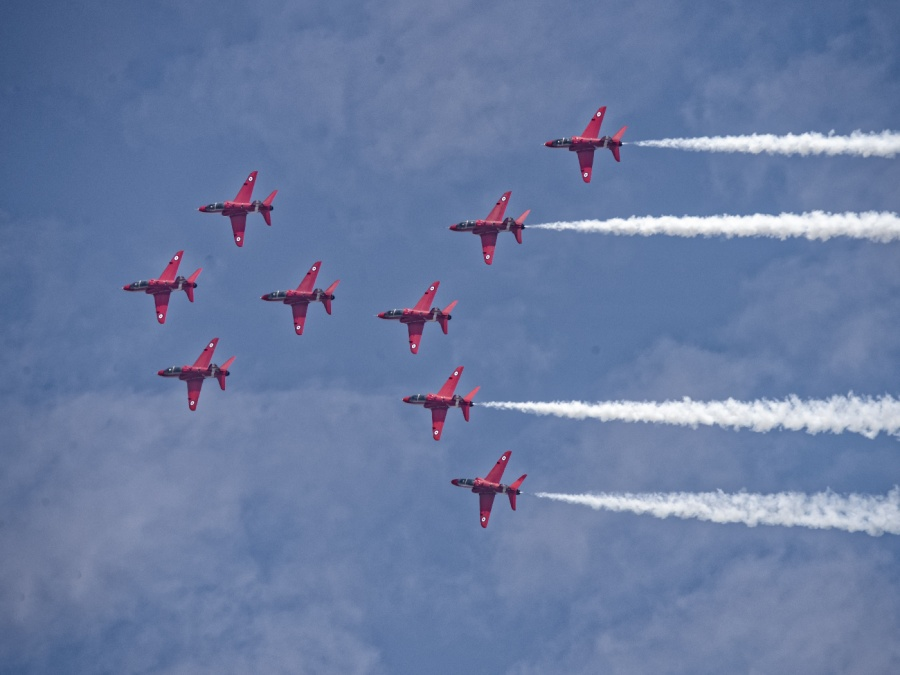 RED JETS 2 by Terry Walker