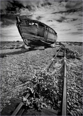 Dereliction Dungeness by Keith Gordon
